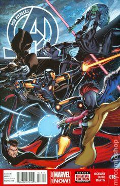 New Avengers (2013 3rd Series) 18A