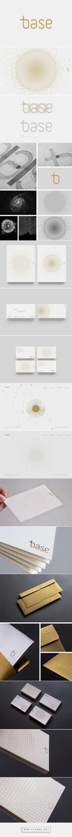 Base Visual Identity on Behance - created via http://pinthemall.net