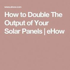 Solar technology is a good candidate for everyone thinking of green energy. Direct sunlight sheds light around the entire planet, and in addition it shedsContinue ReadingEasy Solution That Assist You Best Understand Solar Powered Energy