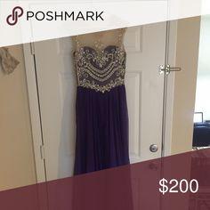 Prom dress Angela & Alison - size 10 - $175 OBO Dresses Prom