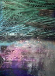 trueman NYA  Chris Trueman #abstract #acrylic #painting #opart #abstraction NYA 84h x 60w inches acrylic and acrylic spray paint on canvas