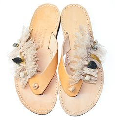 """HAND MADE LEATHER SANDALS """"SUMMER PASSION """" €44.90 (price without shipping) - order by sending mail :styleitchi... ideal for summer outfit or beath wedding"""