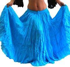 25 Yard Tribal Gypsy Skirt for Belly Dance