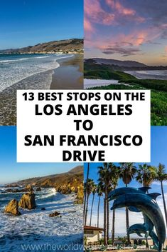 Where to stop on the PCH between Los Angeles and San Francisco. Plan the perfect California road trip! Including places like Santa Barbara Big Sur Monetery Carmel and more! San Francisco, San Diego, Road Trip Usa, West Coast Road Trip, Pacific Coast Highway, Places To Travel, Places To Go, Travel Destinations, California Vacation