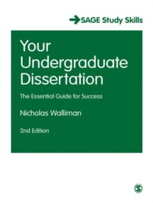 Your Undergraduate Dissertation: The Essential Guide for Success (SAGE Study Skills Series) by Nicholas Walliman, edition. Research Writing, Academic Writing, Essay Writing, Academic Success, Student Success, Teaching Textbooks, Literacy Strategies, Language Study, Critical Thinking Skills