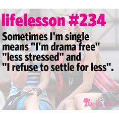 Little Life Lesson #234: Single | GirlsGuideTo