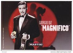 girassol sells an item for until Friday, 5 June 2020 at CEST in the Advertising category on Delcampe Martini, George Clooney, Advertising, Fictional Characters, Band, Fantasy Characters, Martinis