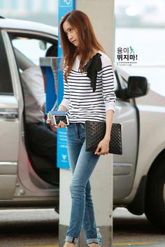 140807 yoona's airport fashion