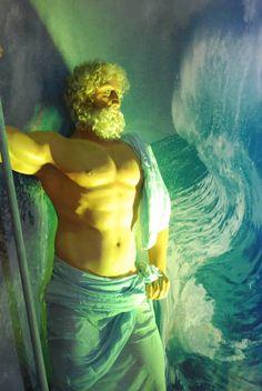 Poseidon sculpture