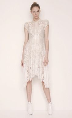 White lace dress by LOVER®