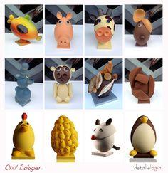 DetalleLogia: Pascua bañada en chocolate