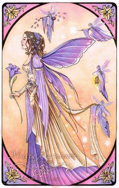 Marta Sarmiento - ORIGINAL Fairy Wedding * Fairy Myth Mythical Mystical Legend Elf Faerie Fae Wings Fantasy Elves Faries Sprite Nymph Pixie Faeries Hadas Enchantment Forest Whimsical Whimsy Mischievous