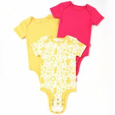Disney Cuddly Bodysuit™ with Grow-An-Inch-Snaps™ WINNIE THE POOH 3-Pack