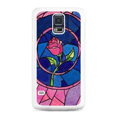Beauty and The Beast Flower Samsung Galaxy S5 Case