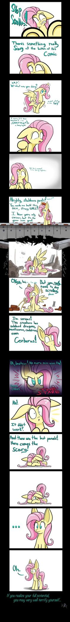 Life lesson thanks fluttershy