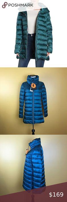 Puma Padded Jacket Youngster Girls Puffer Coat Top Lightweight Zip Zipped Warm