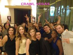 Crawl Vegas Nightclub Party Tours are the best way to visit all the top clubs and lounges in Vegas!  #BestVegasCrawl  #CrawlVegasNightlifeTour