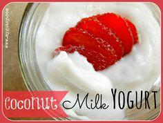 GAPS Coconut Milk Yogurt! (dairy free)