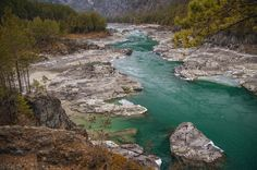 Фото: Река Катунь Алтайский Край Россия - Katun River Altai Krai of Russia http://en.wikipedia.org/wiki/Katun_River  Photo by  Oleg Ivastov (500px.com/photo/23416957)