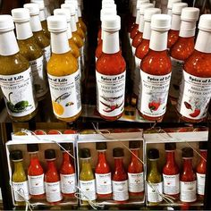 By popular demand, we've got more @spiceoflifeto #hotsauce, and more varieties! #allnatural #locallysourced
