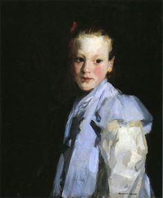 Martche, Robert Henri. American Ashcan School Painter (1865-1929)