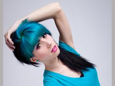 74 Best Two toned hair images | Two toned hair, Colorful hair, Hair ...