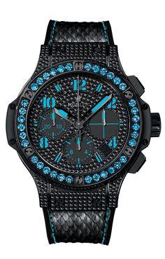 Big Bang Black Fluo Blau » Das Uhren Portal: Watchtime.net