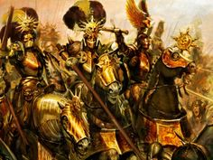 Knights of the Blazin Sun - Warhammer Fantasy