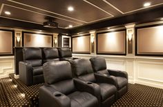 Warm, inviting home theater is great for both movies and gaming