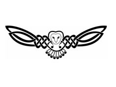 I love the celtic style wings. Maybe I could do something like that for my dragonfly.....