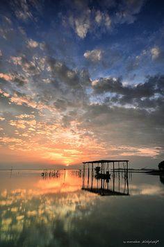 Sunrise, Kalantan, Pantai, Malasia