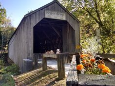 Kingsley Grist Mill, Covered Bridge and Waterfall. - Castles for Rent in Clarendon, Vermont, United States Bridge Builder, Saint Helena, Pasadena California, New River, House Beds, Romantic Getaway, Covered Bridges, Woodstock, Vermont