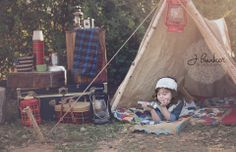 Camping Themed Photos, Vintage Camping www.jbunkerphotography.com
