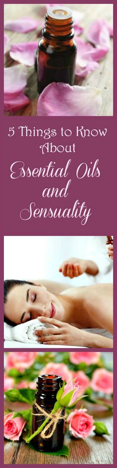 Essential oils for love and romance - Oils and natural scents have been used to increase libido and romantic mood in the bedroom for centuries. Here are some simple tips, blends and recipes for using essential oils to feel more sensual and to enhance sex and intimacy in your marriage. The blend with ylang ylang is my favorite. Marriage tips | Essential oil blends
