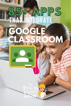 Did you know you can use other apps with Google Classroom? Check out this list of more than 85 Awesome Apps that Integrate with Google Classroom! Classroom Tools, Google Classroom, Classroom Resources, Classroom Ideas, Free Teaching Resources, Teacher Resources, Formative Assessment Tools, Technology Integration, Mobile Learning