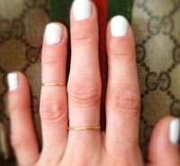 How to Make a Dainty Gold Ring (budget-style)