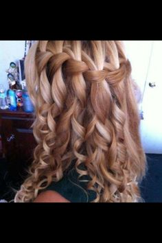 8th Grade Graduation Hairstyles for Girls | Pinned by Lyndsie Jo Compton