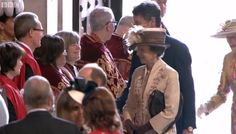 """Royal Central on Twitter: """"Princess Anne and her husband, Sir Timothy Laurence are now here #Queenat90"""