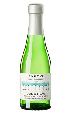 Angove Long Row Sparkling Chardonnay Pinot Noir NV South Australia 200ml - 24 Bottles Sparkling Wine, Pinot Noir, South Australia, Wines, The Row, Bottles, Sparkle