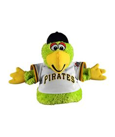 Love this Pittsburgh Pirates Pirate Parrot Hand Puppet on #zulily! #zulilyfinds ::: I want one! Lorr