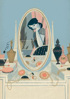 Vintage Illustrations Showcase and discover creative work on the world's leading online platform for creative industries. Art And Illustration, People Illustration, Pattern Illustration, Illustrations And Posters, Character Illustration, Graphic Design Illustration, Vintage Illustrations, Drawn Art, Christmas Drawing