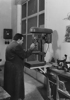 Laboratorio rilegatoria - 1956
