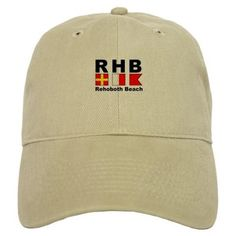 Rehoboth Beach Baseball Cap on CafePress.com