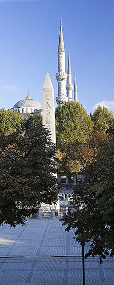 Sultanahmed Cami Minareleri Turkey