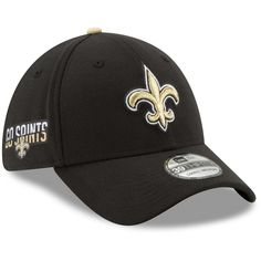 new concept e57a0 2428c Men s New Orleans Saints New Era Black Team Slogan Classic 39THIRTY Flex Hat,  Your Price   31.99