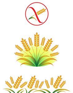 "Spighe. Illustazione spighe e simbolo ""gluten free"". #giuliabasolugrafica #graphic #illustration #drawing #illustrator #digitalart #vector #spighe #glutenfree"