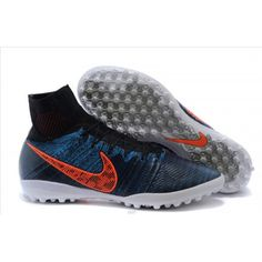 the latest b9a3a d5325 Cheap Nike Elastico Superfly TF Black Total Crimson Blue Lagoon Dark Grey Nike  Soccer Shoes,