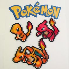 Pokemon perler beads by lootingbroad