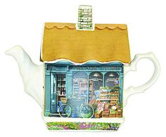 James Sadler by Churchill: Teekanne Village Store, 0,5 L