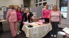 Breast Cancer Awareness, Pink Day. Crown Hill employees wear pink in support of breast cancer awareness.